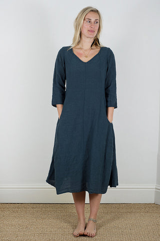 Manuelle Guibal Kukka Dress in Manganese