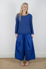 Manuelle Guibal Tee Droit Nami in Royal Blue