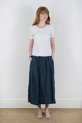 Manuelle Guibal Kagi Skirt in Manganese