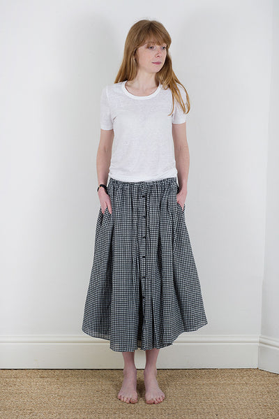 Manuelle Guibal Check Skirt