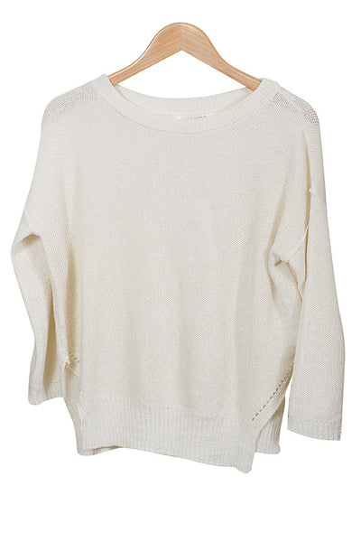 Pomandere Cream Sweater