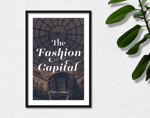 The Fashion Capital
