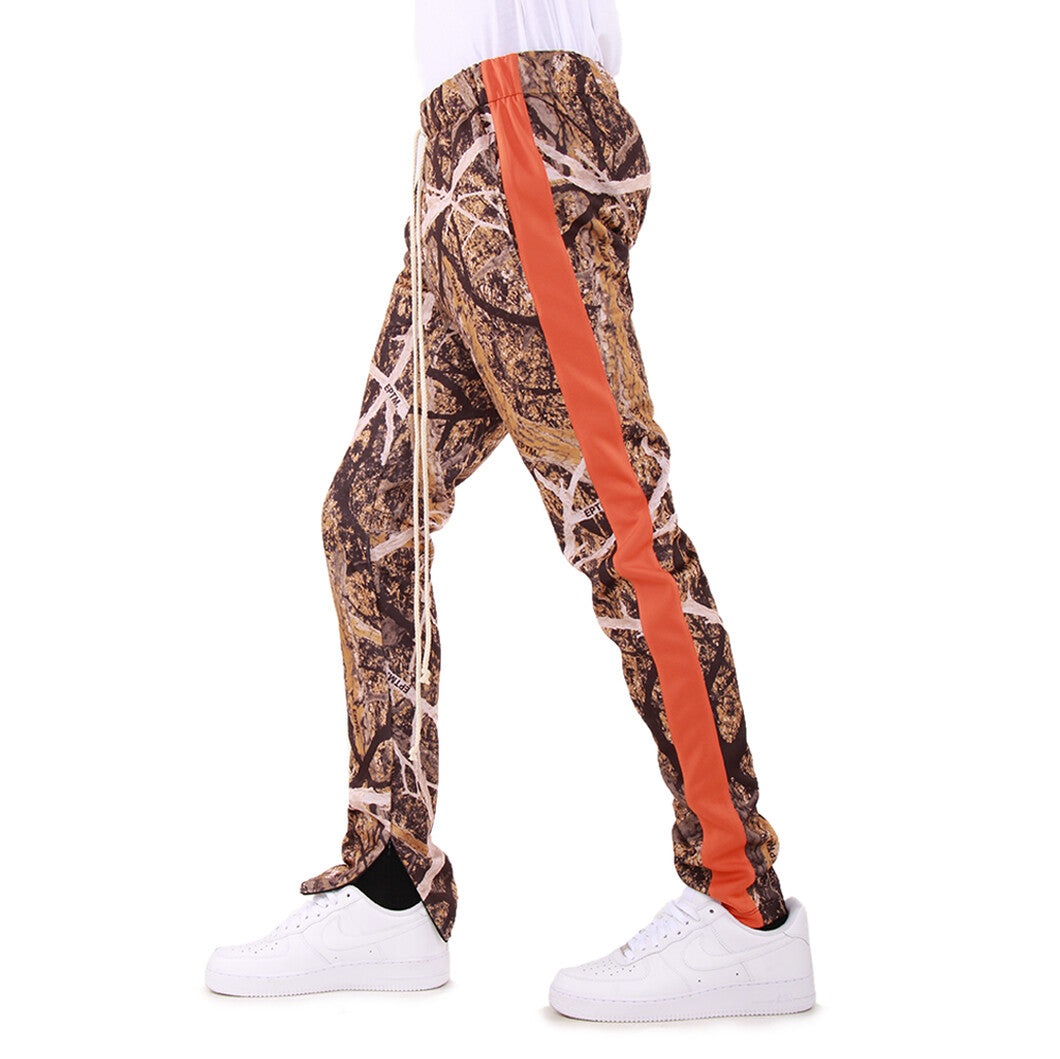 EPTM Orange Hunter Camo Track Pants