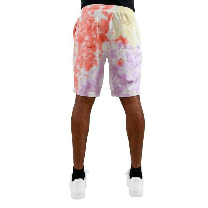 EPTM PINK/YELLOW/LT. PURPLE-TIE DYE SHORTS