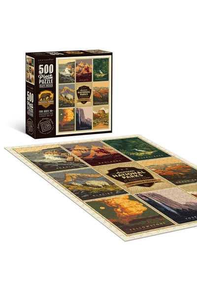 National Parks 4 500 Piece Jigsaw Puzzle