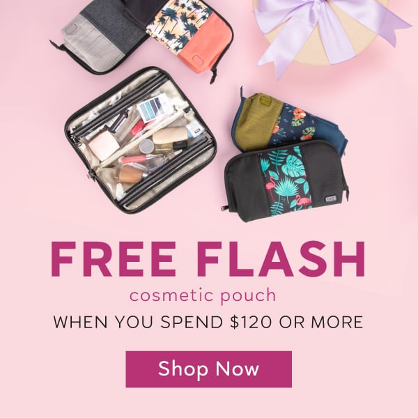 Free Flash when you spend $120 or more