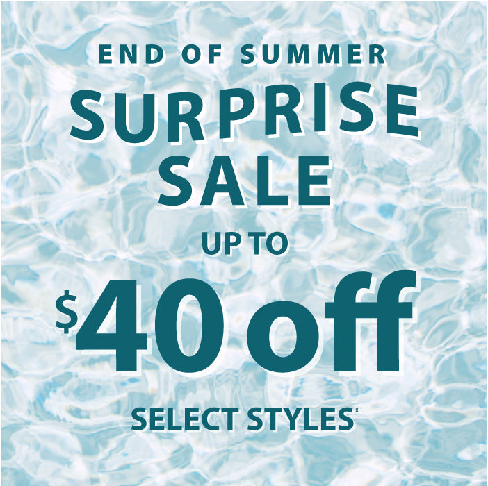 Up to $40 off select styles