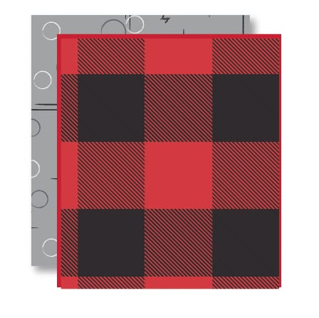 Buffalo Check Red Pattern