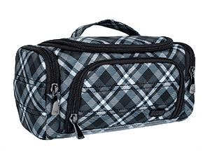 Mini Trolley - Plaid Grey