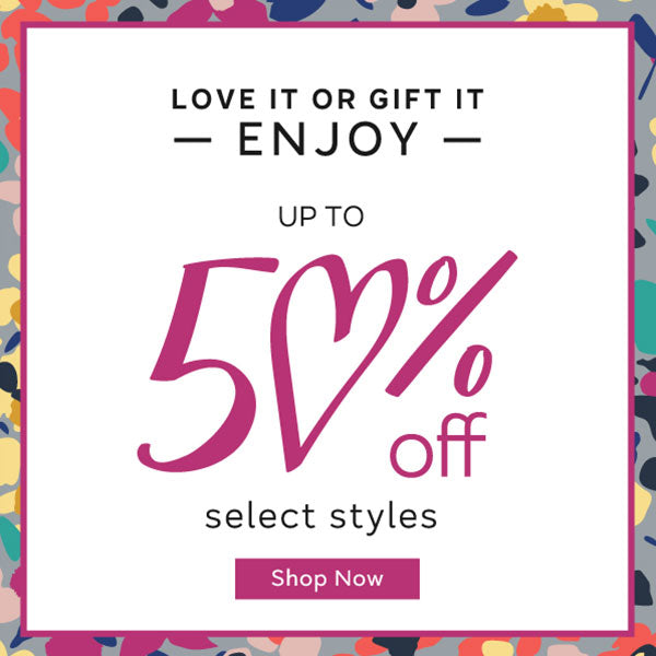 Up to 50% off for Vday
