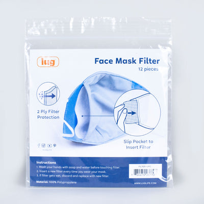 Face Mask Filters 12PK