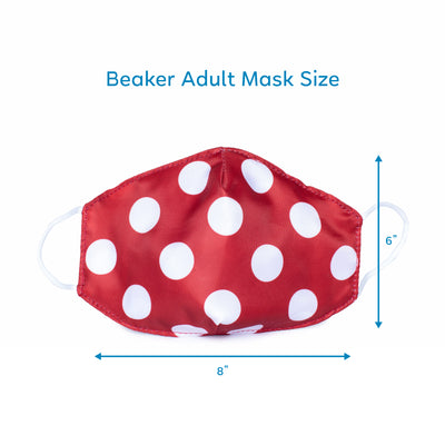 Beaker Face Mask 3PK