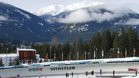 Whistler Sliding Center - Bobsleigh Racing