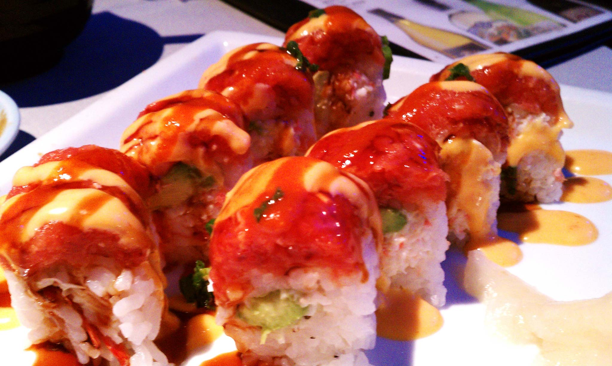 Chomp Sushi Roll