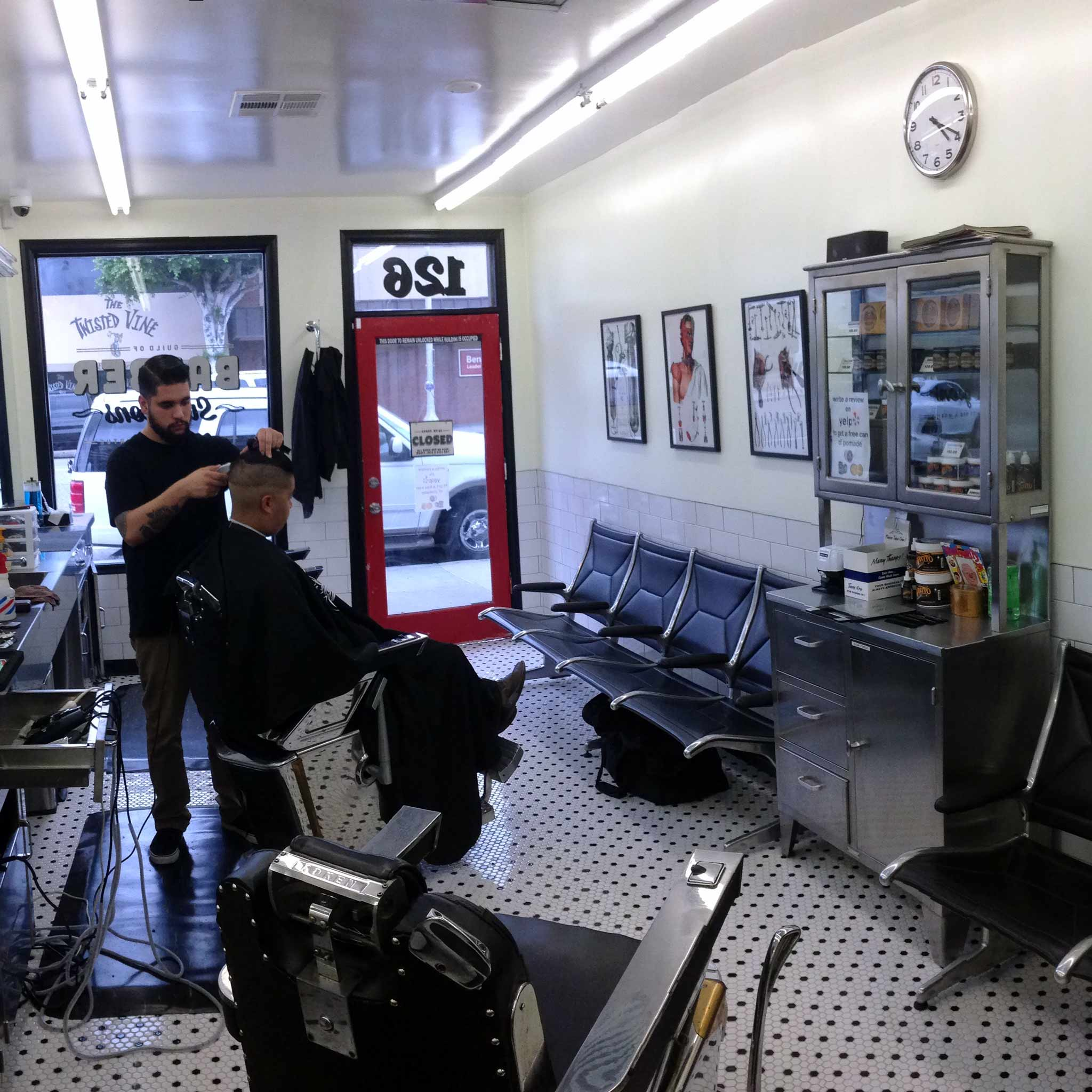 Inside Barber Surgeons Fullerton