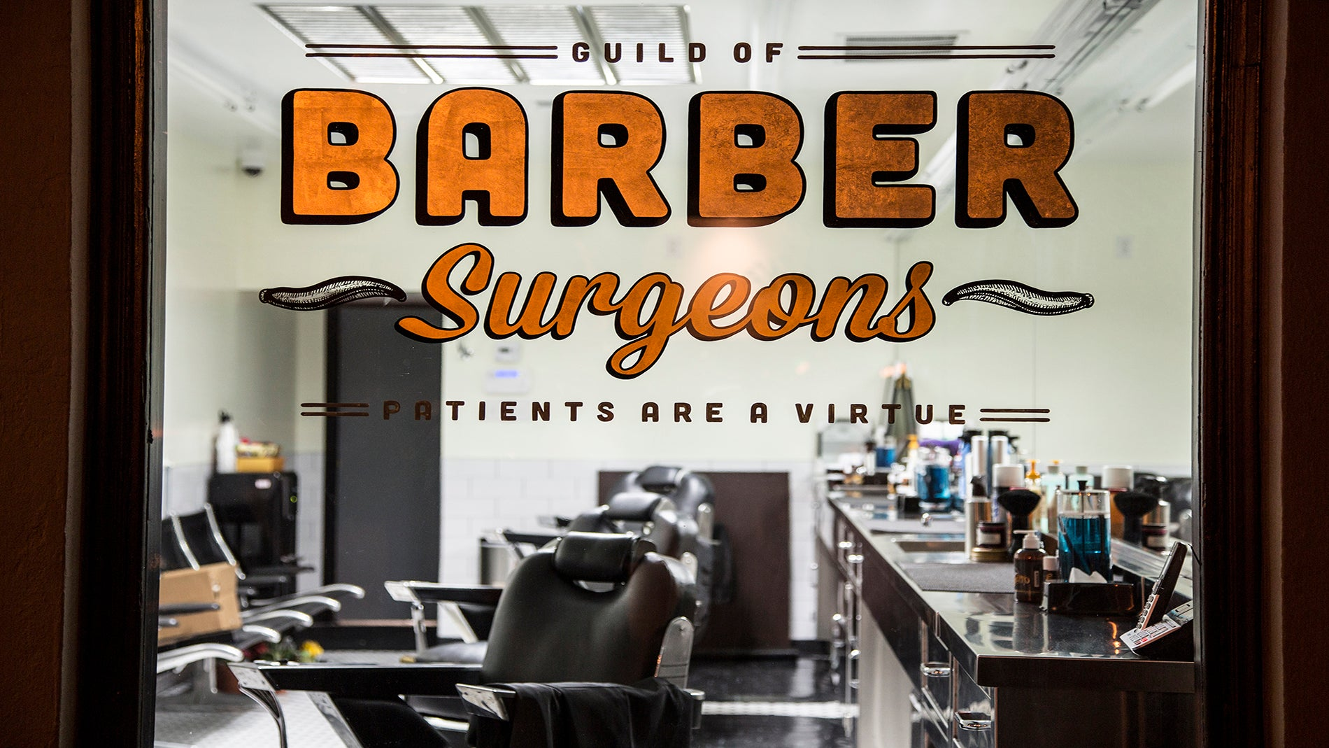 A look through the window of Barber Surgeons