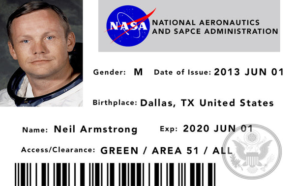 NASA ID Card Template (page 3) - Pics about space