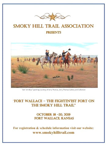 """Get 'Em Boys"" Smoky Hill Trail Association Poster 2019"