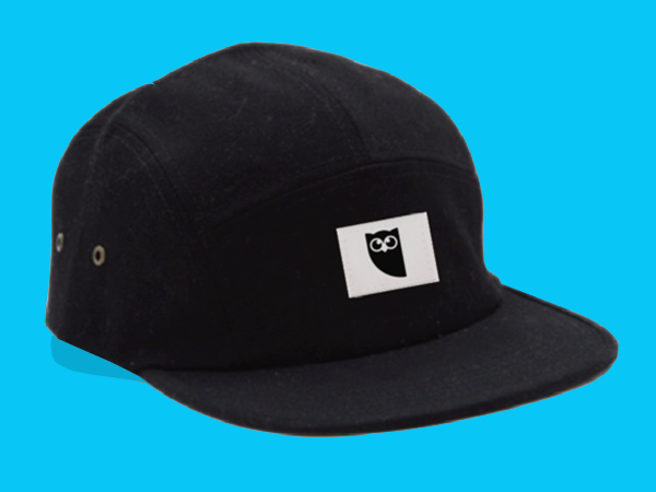 Classic Jockey Cap with Woven Patch - Hootsuite Media Inc. 769c707c4014
