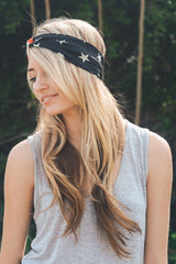 American Flag Head Band