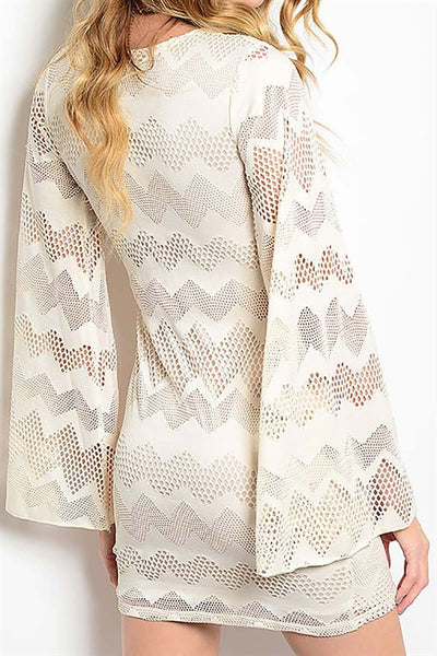Boho Bell Sleeve Dress