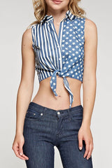 Denim American Top