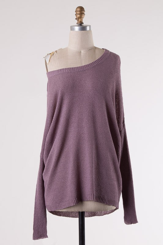 Kinsley Sweater in Mauve