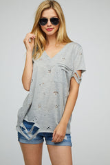 Distressed Charlea Tee