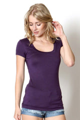 Giselle Top in Plum