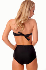 High Waist Halter Bow Bikini