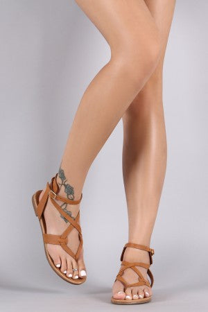 Jessie Sandal in Tan