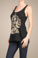 Tara graphic tank top