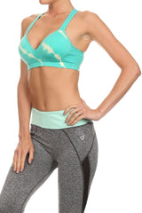 Sandra Sports Bra in Mint