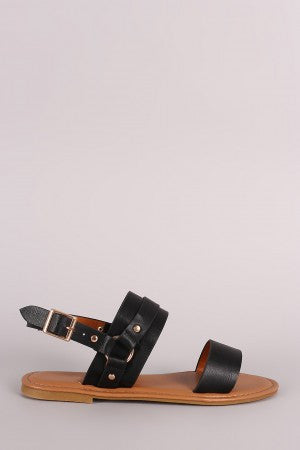 Coraline Sandal in Black