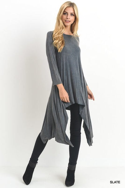 Mindy Tunic in Slate