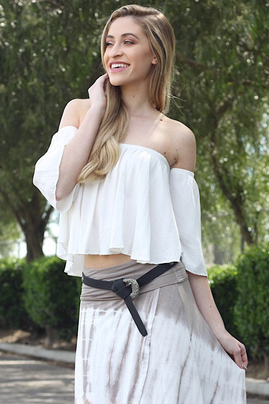Zoey Blouse in White