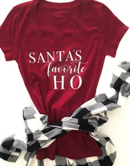 WHOLESALE Santa's Favorite Ho Tee