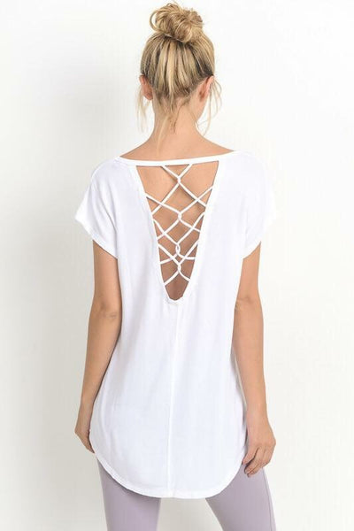 Ema Backless Tee