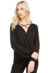 Irene Blouse in Black