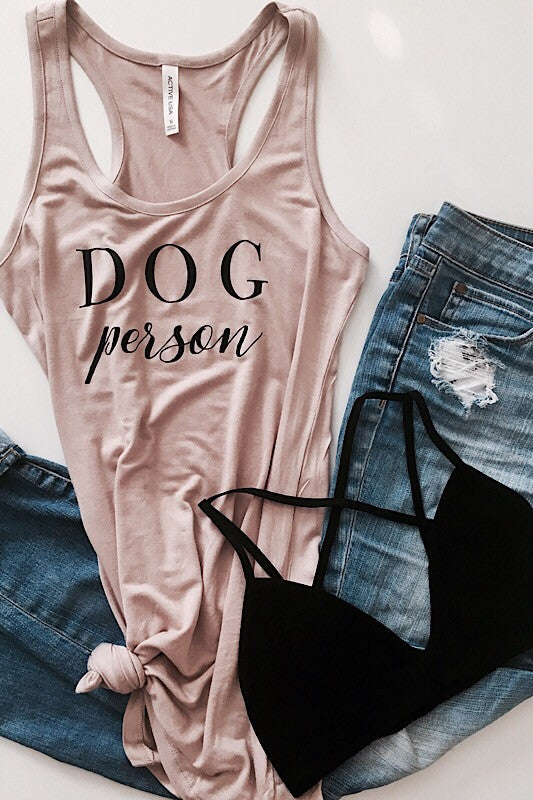 Dog Person Tank