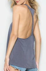 Braided Backless Tanks PRICE DROP