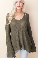 Camilla Sweater in Olive
