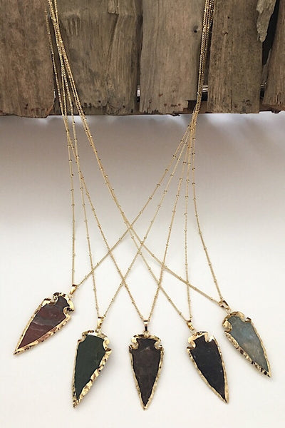 Marissa Arrowhead Necklace
