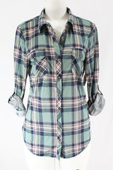 Sage Slim Fit Flannel