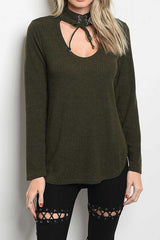 Lara Top in Olive