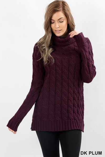 Dark Plum Sweater