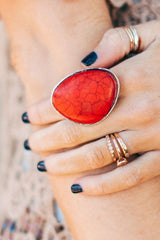 Evelyn Marble Ring