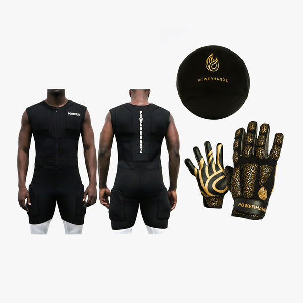 POWERSUIT/Basketball Gloves/ Dribble Sleeve Performance Set