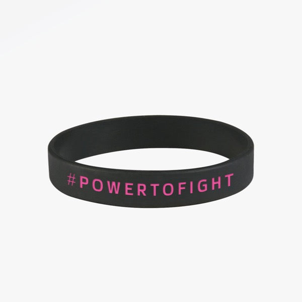 #POWERTOFIGHT Wrist Band