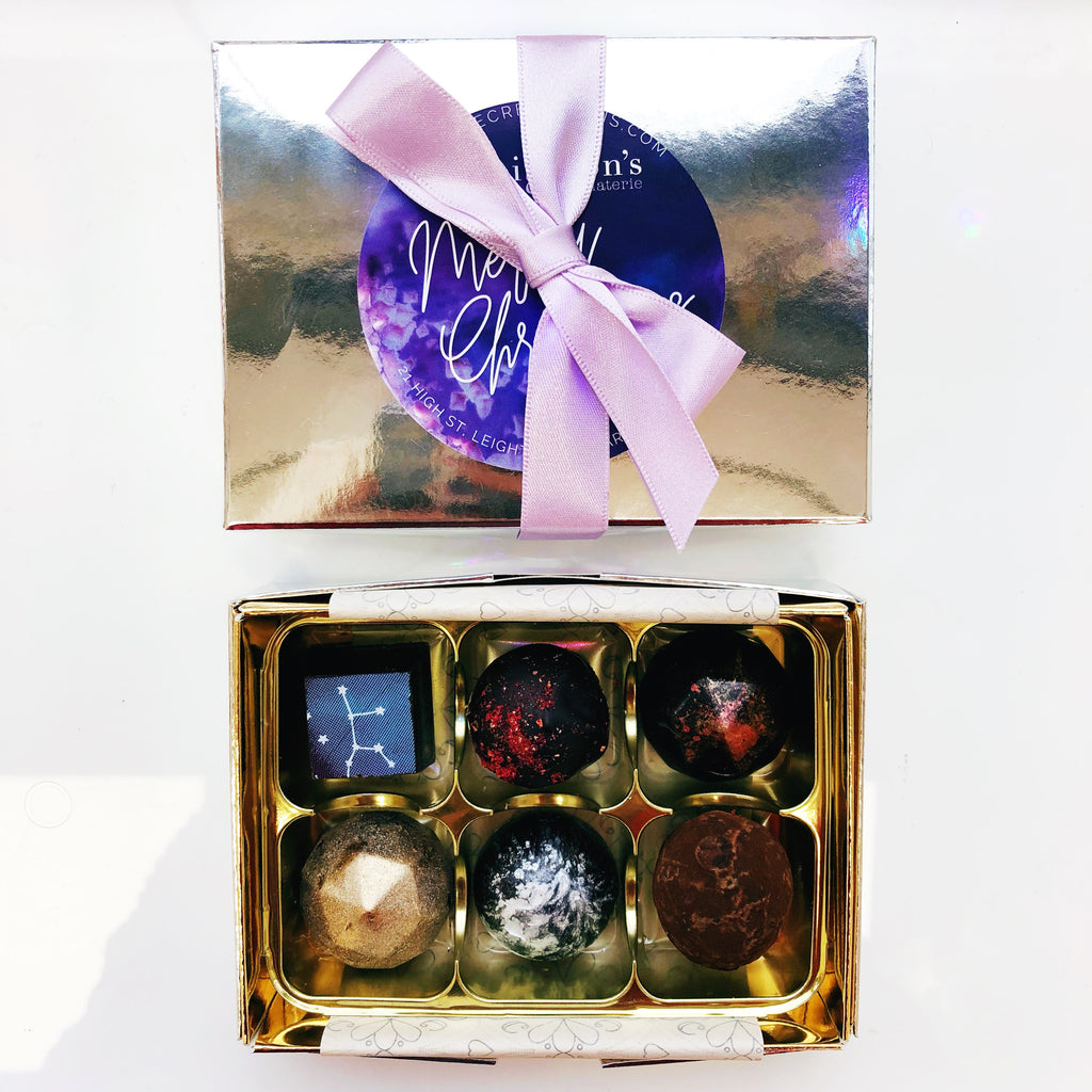 Christmas Vegan Truffle Selection Gift Box